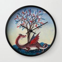 Peridexion tree Wall Clock