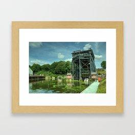 Anderton Boat Lift Framed Art Print