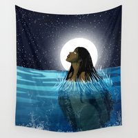 korra Wall Tapestries featuring Rise by Chouly-Shop