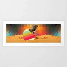Wish I could hug you but I have these little arms Art Print