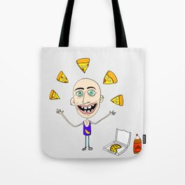 The Passion of the Pizza Tote Bag