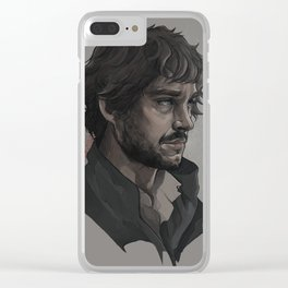 Will Graham, portrait Clear iPhone Case