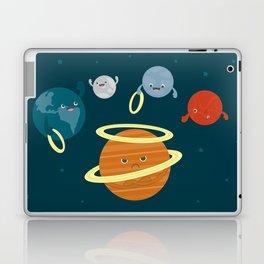 Saturn Ring Toss Laptop & iPad Skin