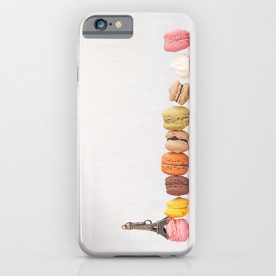 Paris, macarons and the eiffel tower iPhone & iPod Case