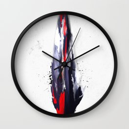 The American feather Wall Clock