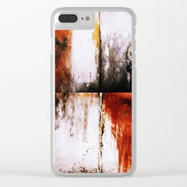 the futile guilt Clear iPhone Case