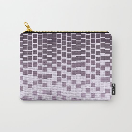 Pixel Rain Carry-All Pouch