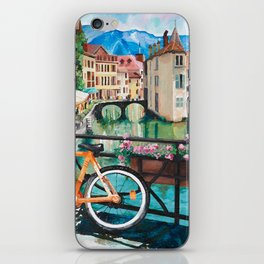 Annecy, France iPhone Skin