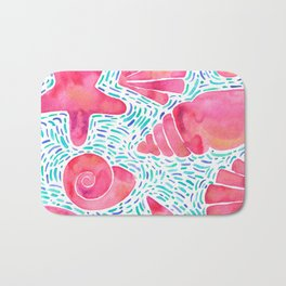 Pink treasures  Bath Mat