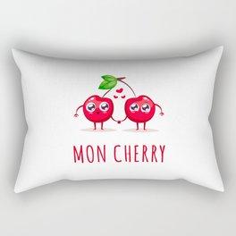 Mon Cherry Rectangular Pillow