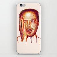 jesse pinkman iPhone & iPod Skins featuring Jesse Pinkman by beart24