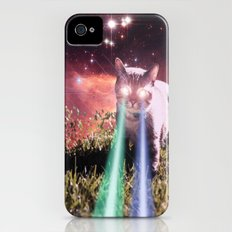 Mega Space Cat Rising Slim Case iPhone (4, 4s)