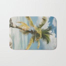 Palm Trees Punta Cana Bath Mat