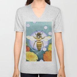 Spirit of the Bee Unisex V-Neck