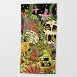 The Jungle Beach Towel