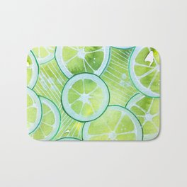 Lime Rings Badematte