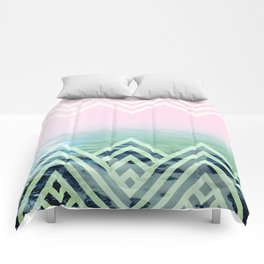 Bermuda Sky Pattern Comforters
