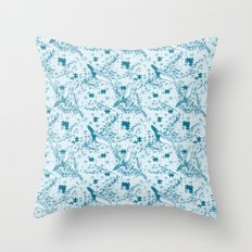 Solving Nature Throw Pillow