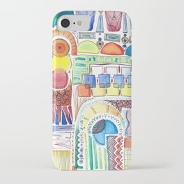 WATERCOLOR WHIMSY iPhone Case