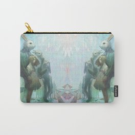 The Rabbits Are Here Carry-All Pouch
