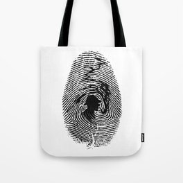 Mark of a great detective Tote Bag