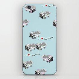 I Heart Truckers iPhone Skin