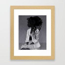 Dreadlocks Framed Art Print