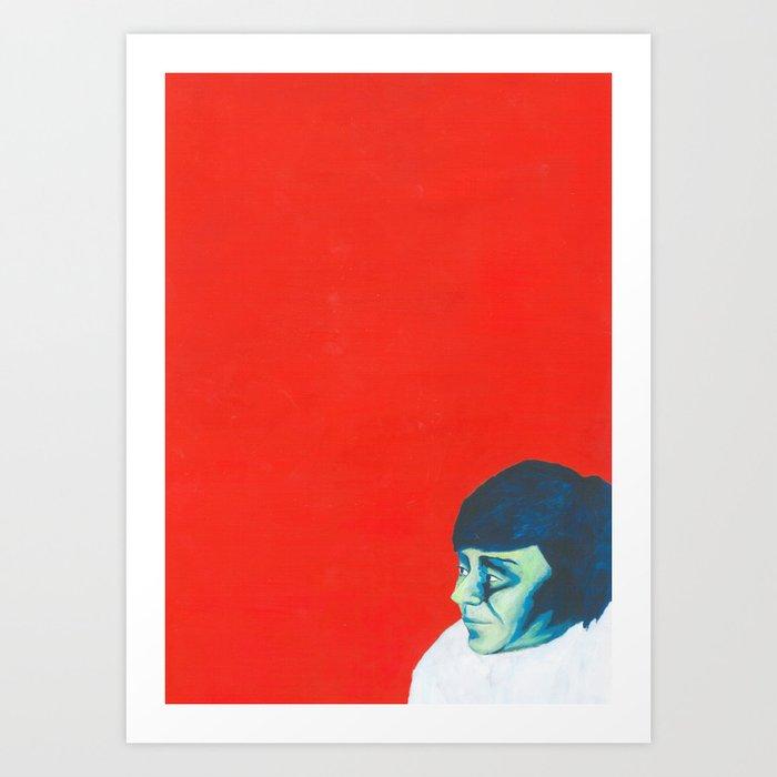 Au travail 14 Art Print