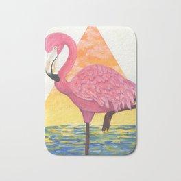 Flamingo Sunset Bath Mat