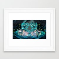 chihiro Framed Art Prints featuring Chihiro Visions by Andrey Lyle