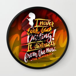 Edna Mode quote Wall Clock