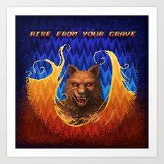 Beast Alterations - Rise From Your Grave Art Print