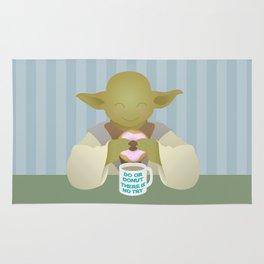 Do or DONUT - Little Yoda Rug