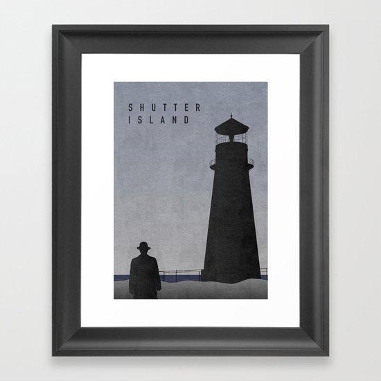 SHUTTER ISLAND Framed Art Print