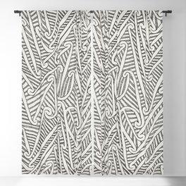 Maori Pattern Blackout Curtain