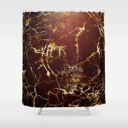 KINTSUGI  ::  Accept Fate Shower Curtain