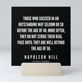29  | Napoleon Hill Quote Series  | 190614 Mini Art Print