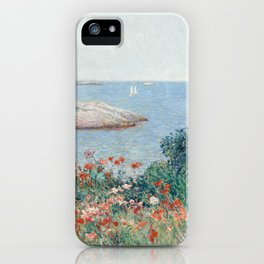 Poppies, Isles of Shoals 1891 by Childe Hassam iPhone Case