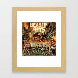 Beastie Invasion Framed Art Print