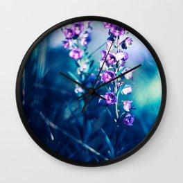 Efflorescence Wall Clock