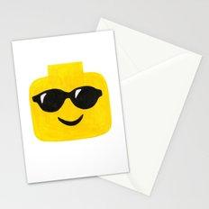 Sunglasses - Emoji Minifigure Painting Stationery Cards