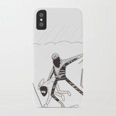 Spider-Beard iPhone X Slim Case