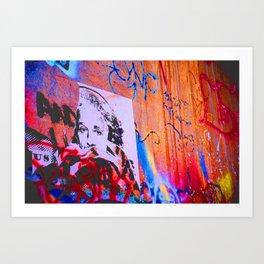 Eye Spy Graffiti Art Print