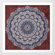 A Glorious Morning (Mandala) Art Print