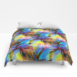 Floral Exotica 3 Comforters