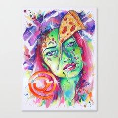 @pizzaface Canvas Print