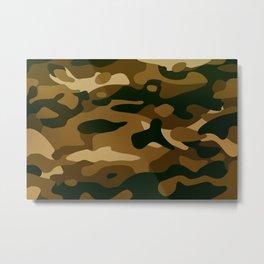 Camouflage art Metal Print