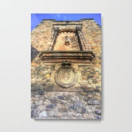 Edinburgh Castle Royal Airforce Metal Print
