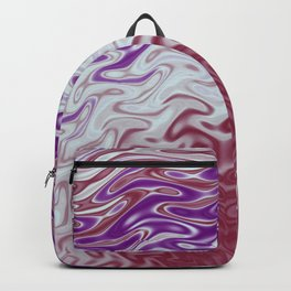 Fractal Rise in Pinks and Purples Backpack