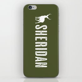 Deer: Sheridan, Wyoming iPhone Skin